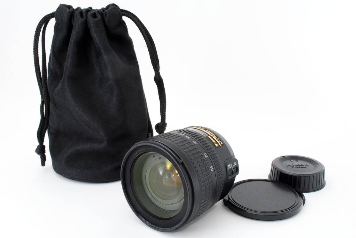Nikon AF-S Nikkor 24-85mm F3.5-4.5 G ED 広角ズームレンズ ソフトケース付 #YE_画像1