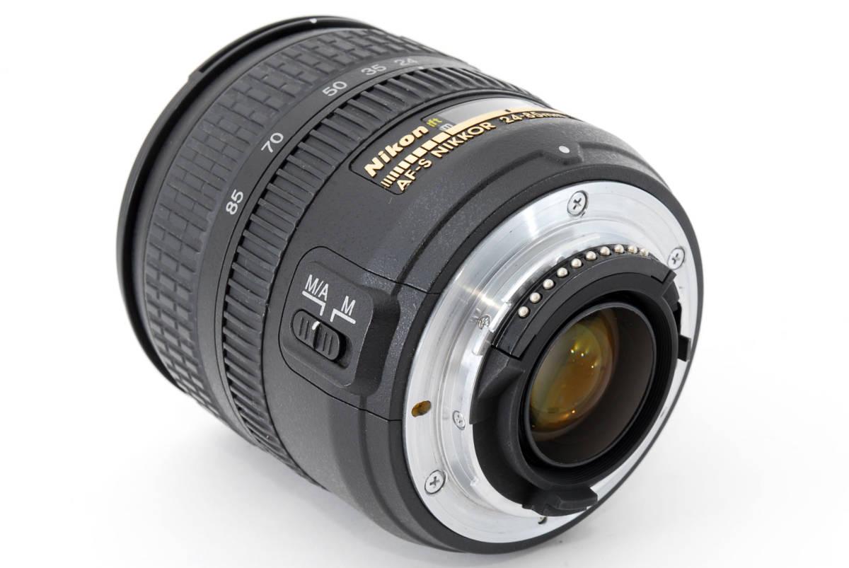 Nikon AF-S Nikkor 24-85mm F3.5-4.5 G ED 広角ズームレンズ ソフトケース付 #YE_画像7