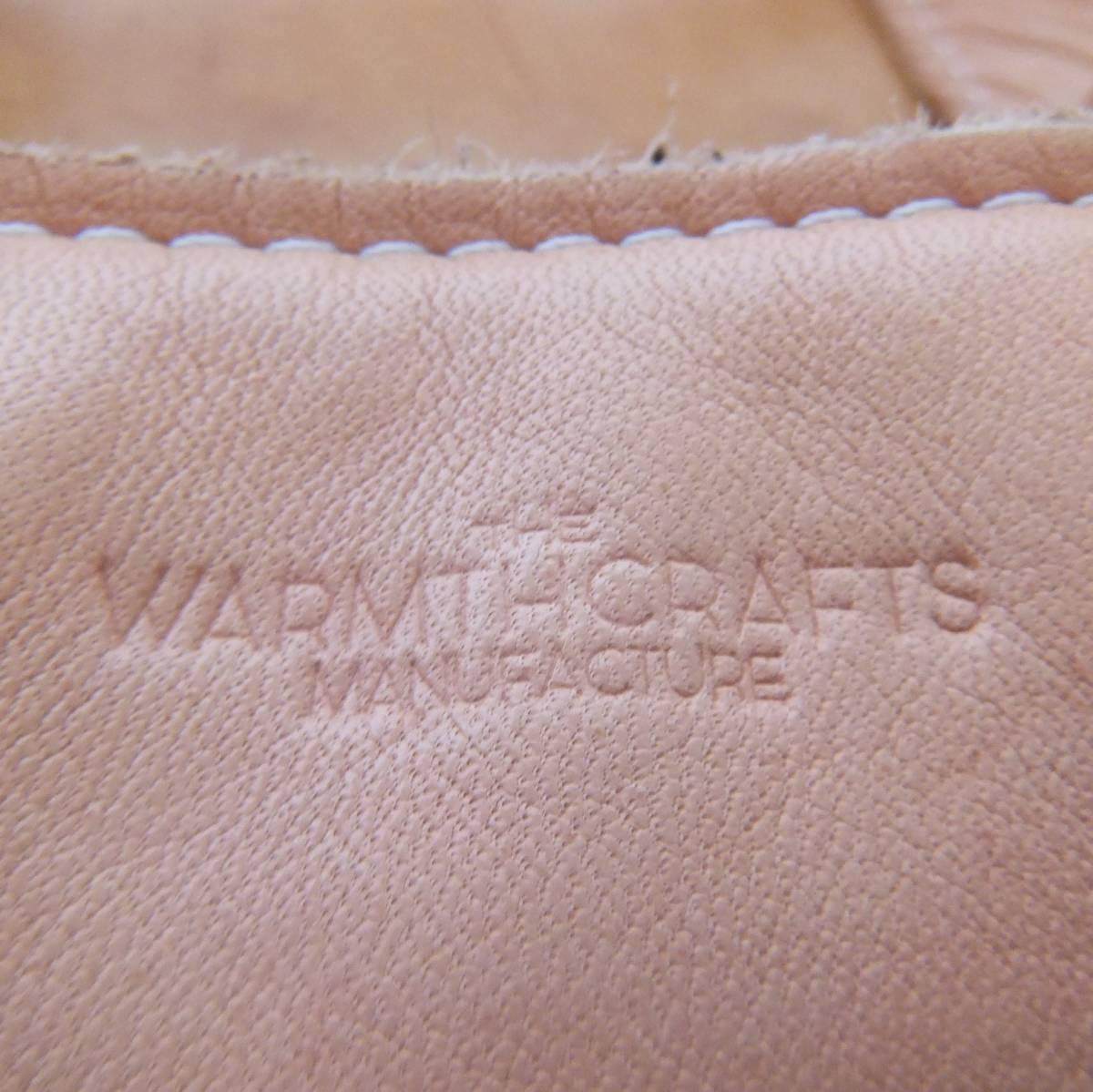 The warmthcrafts manufacture ウォームスクラフツ マニュファクチャー 2016ss ホースハイド レザー 2wayショルダーバッグ トートバッグ _画像4