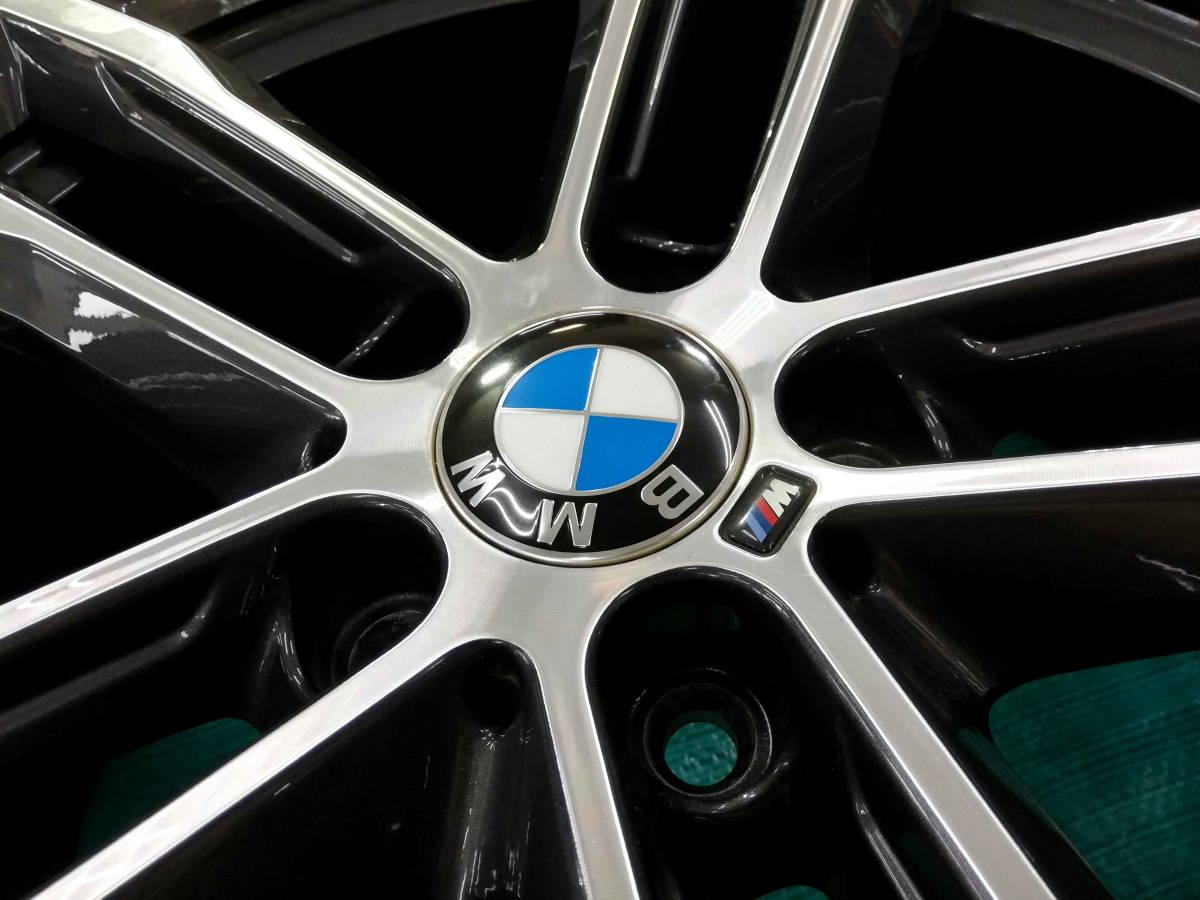 1円売切 美品 バリ溝 BMW 純正 3シリーズ F30 F31 Mスポーツ ダブルスポークスタイリング704M エディションシャドウ 4シリーズ F32 F33 RFT_画像6