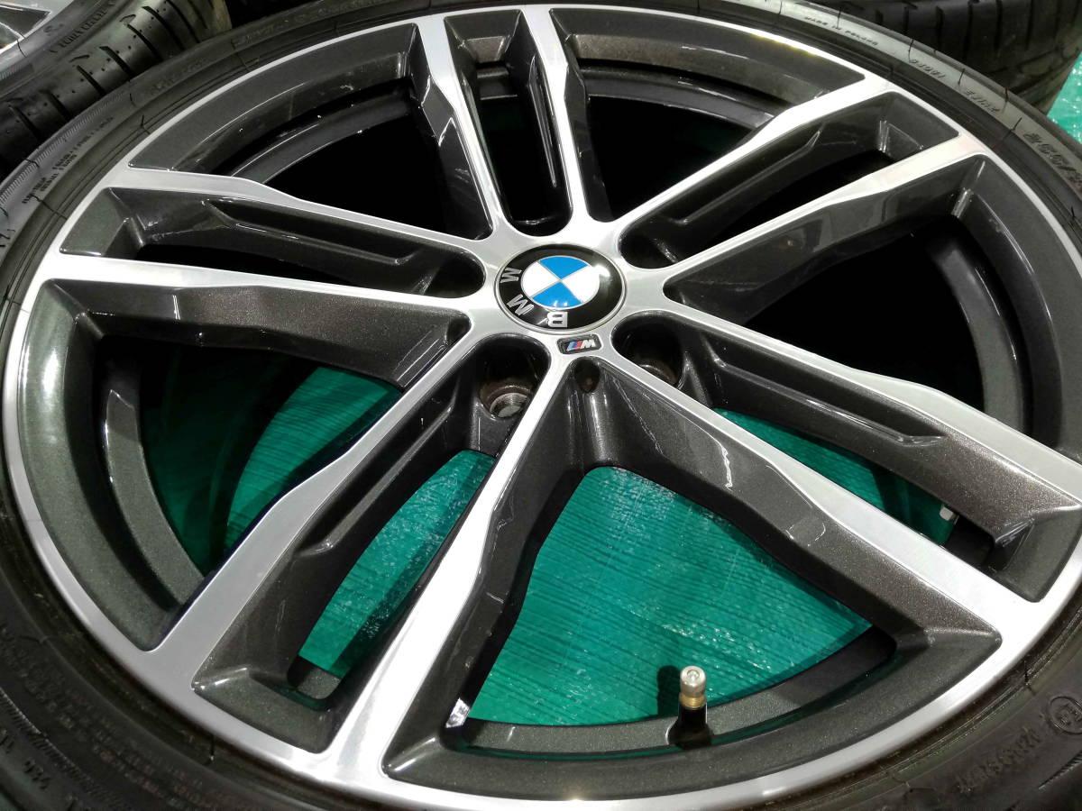 1円売切 美品 バリ溝 BMW 純正 3シリーズ F30 F31 Mスポーツ ダブルスポークスタイリング704M エディションシャドウ 4シリーズ F32 F33 RFT_画像9