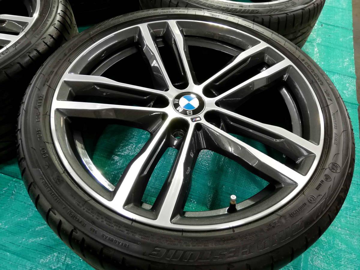 1円売切 美品 バリ溝 BMW 純正 3シリーズ F30 F31 Mスポーツ ダブルスポークスタイリング704M エディションシャドウ 4シリーズ F32 F33 RFT_画像5
