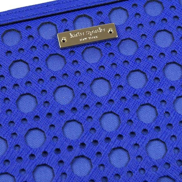 【正規品新品】(ケイトスペード)KATE SPADE 財布 長財布 PWRU4255 ISLAND DEEP ブルー 453