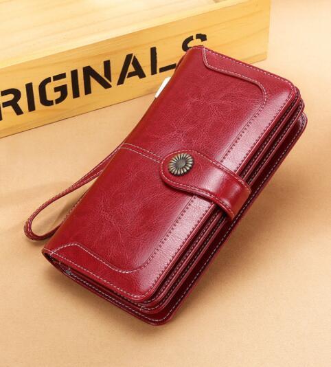 18B078長財布 財布 レディース 本革 レザー 実物写真 人気 素敵 気質よい 通勤 出張 旅行 高級感
