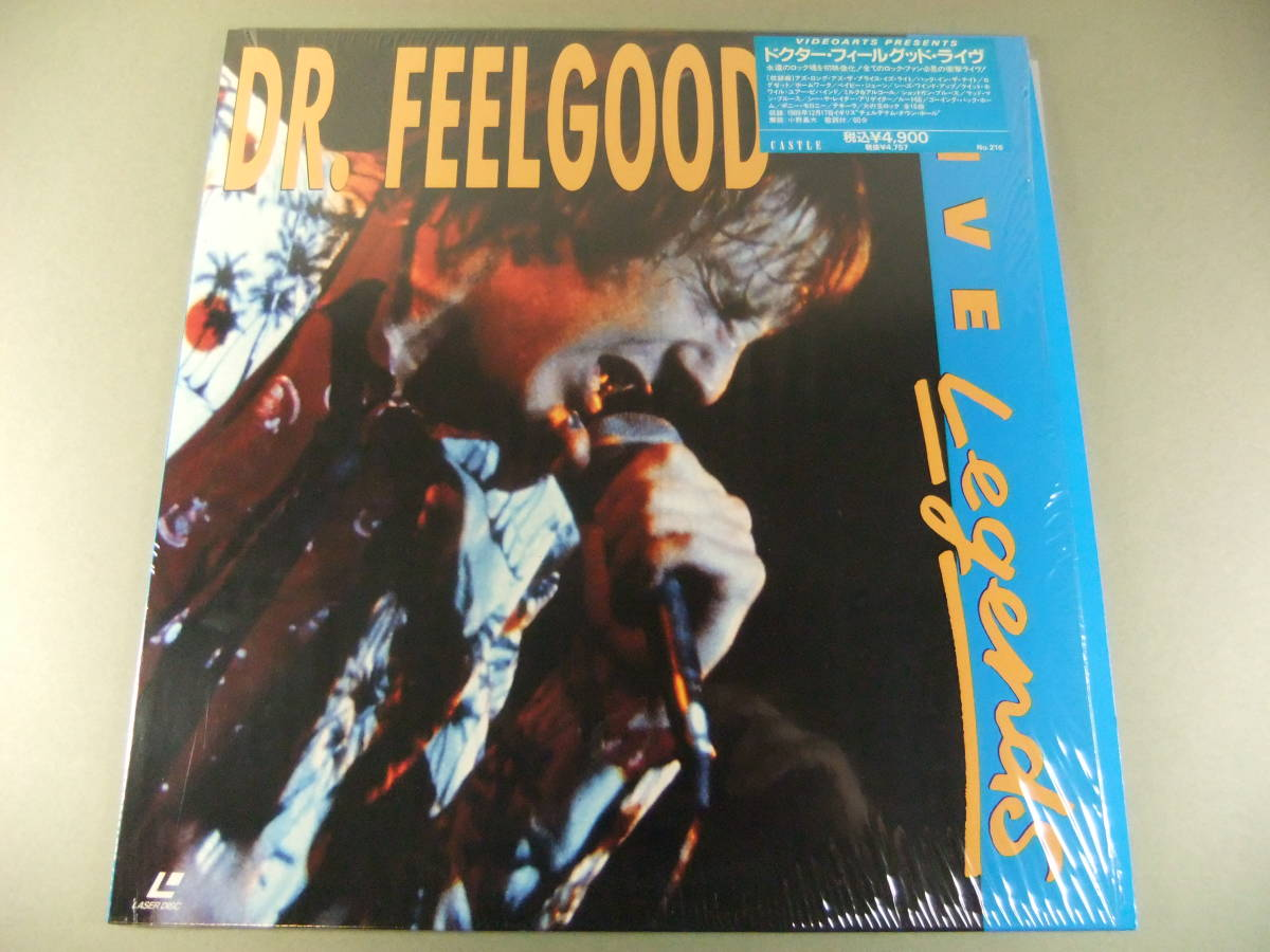 ■ LD ドクター・フィールグッド DR. FEELGOOD / LIVE 1989 ■_画像1