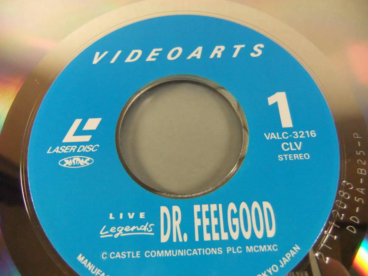 ■ LD ドクター・フィールグッド DR. FEELGOOD / LIVE 1989 ■_画像4