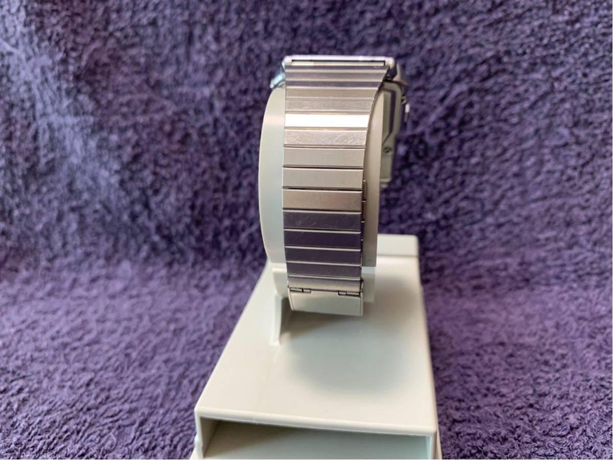 ★ CASIO カシオ DBC-600 563 DATABANK データバンク 腕時計 稼動品 デジタル レア シルバー 黒 白 ステンレス ビンテージ 美品 希少 ★_画像9