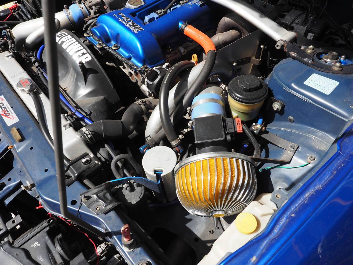 シルビアスペックR S15改 東名2・1Lエンジン HKSタービン インタークーラー LSDなど改造多数_画像7