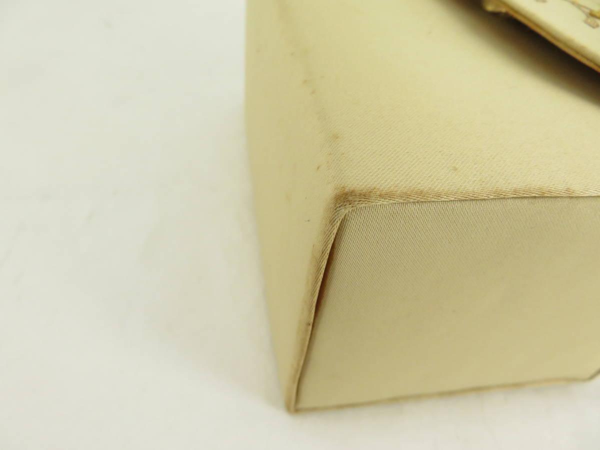 【お買い得品!】 ★ 刺繍デザイン ★ ハンドバッグ ベージュ パーティバッグ (EM01B602)_画像5