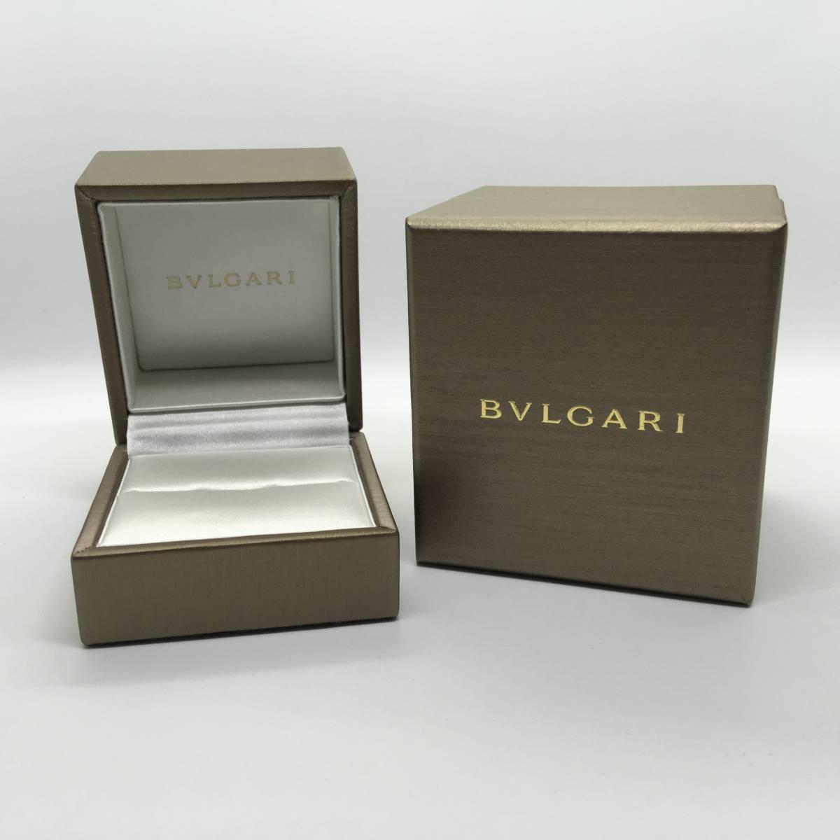 new styles 7c0c8 7bcec 08215 ブルガリ BVLGARI 箱 ケース ボックス 純正 リング 指輪 美品