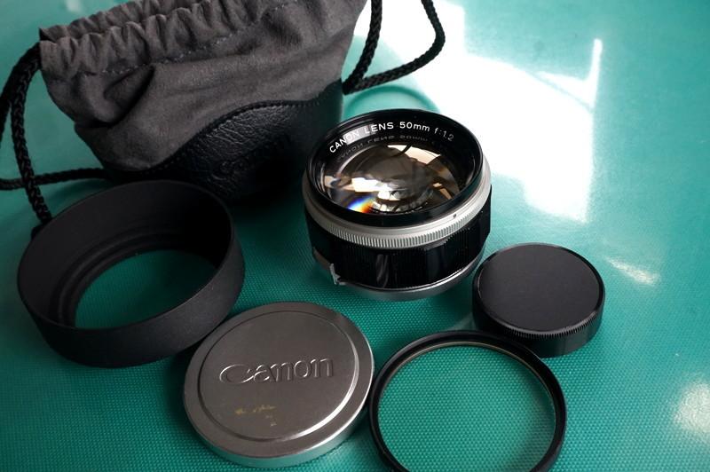 光学美品 キヤノン CANON LENS 50mm F1.2 (Lマウント連動)