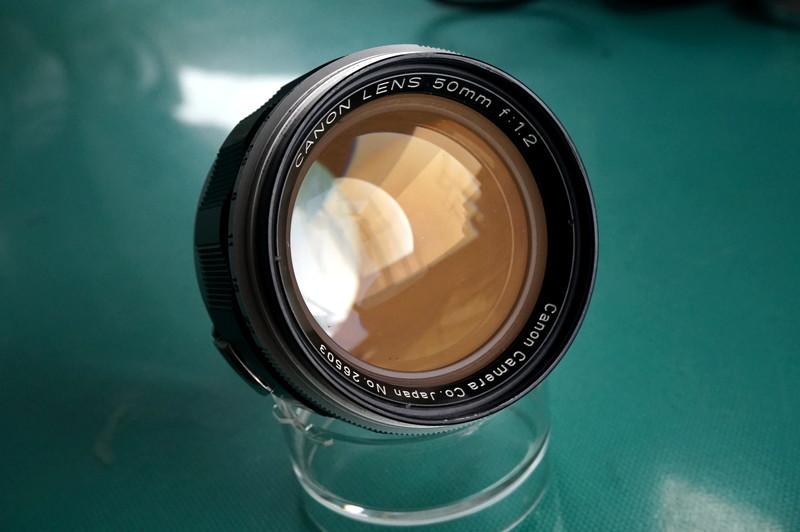 光学美品 キヤノン CANON LENS 50mm F1.2 (Lマウント連動)_画像2