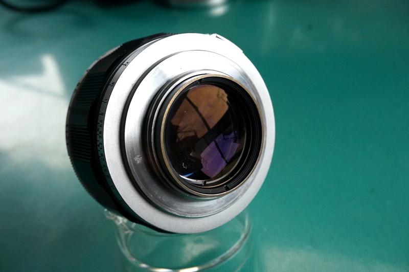 光学美品 キヤノン CANON LENS 50mm F1.2 (Lマウント連動)_画像3