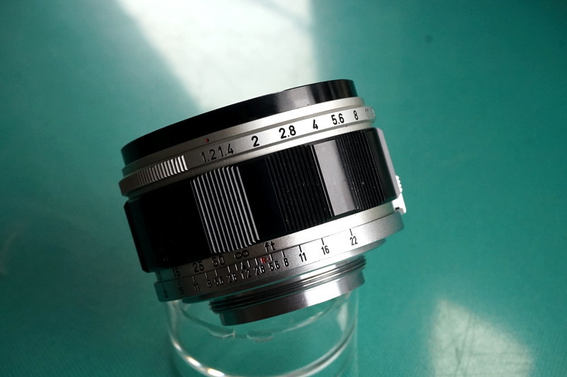光学美品 キヤノン CANON LENS 50mm F1.2 (Lマウント連動)_画像4