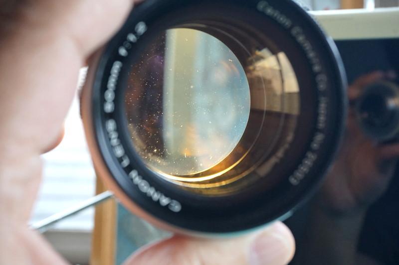 光学美品 キヤノン CANON LENS 50mm F1.2 (Lマウント連動)_画像6