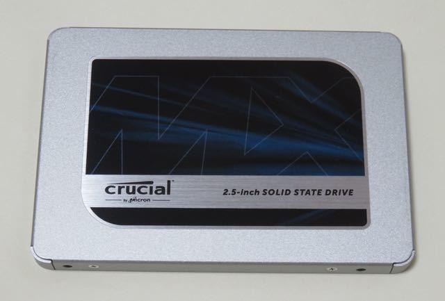 【未使用品 / 外箱と取説なし】内蔵型2.5インチ Crucial SSD 1000GB CT1000MX500SSD1 ③