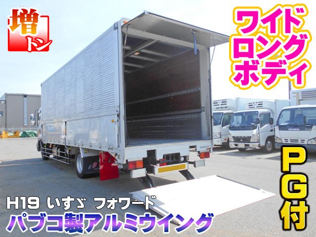 H19 いすゞ フォワード パブコ製アルミウイング パワーゲート付 ワイドボディ 7200ボディ #K4761_画像2