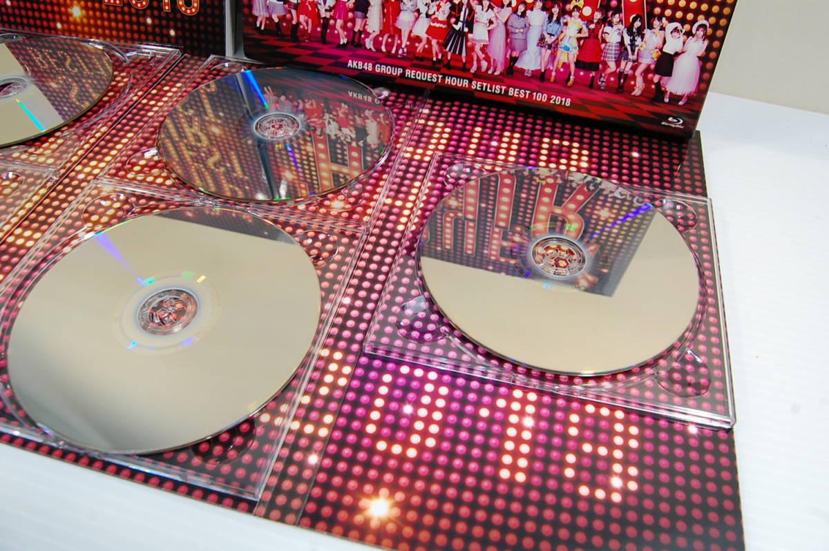 ★AKB48 グループリクエストアワーセットリストベスト100 2018 [AKB-D2382][Blu-ray/ブルーレイ]5枚組_画像3