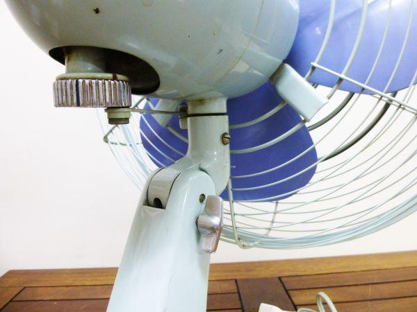 昭和レトロ 扇風機 元箱入り 富士電機製造株式会社 30センチ羽 アンティーク ヴィンテージ #809-2AB_画像8