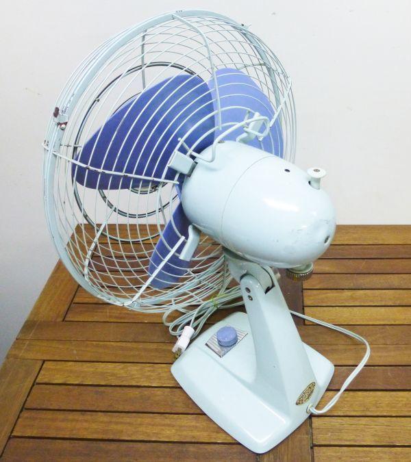 昭和レトロ 扇風機 元箱入り 富士電機製造株式会社 30センチ羽 アンティーク ヴィンテージ #809-2AB_画像10