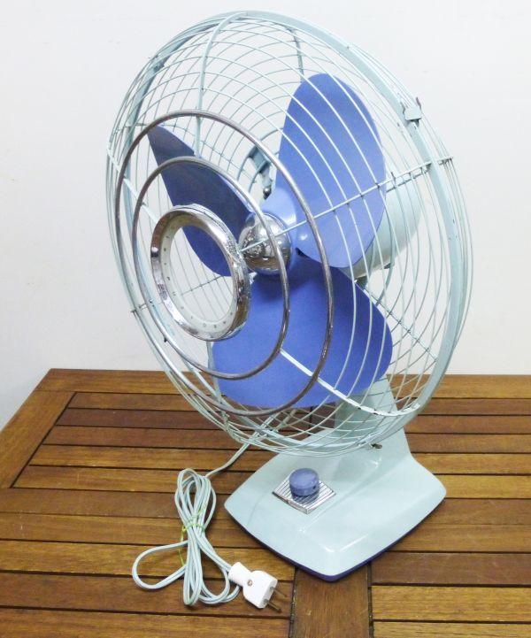 昭和レトロ 扇風機 元箱入り 富士電機製造株式会社 30センチ羽 アンティーク ヴィンテージ #809-2AB_画像2