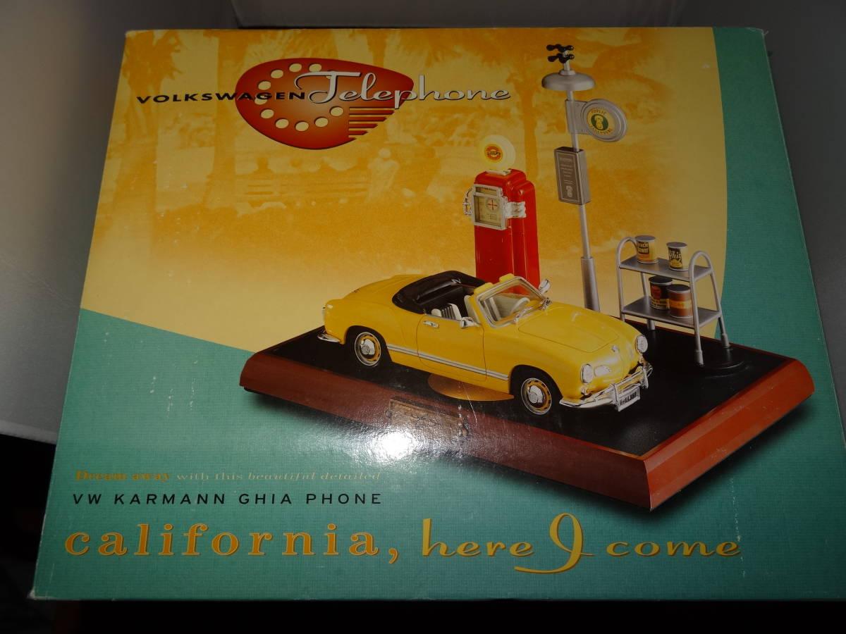 新品、ワーゲン カルマンギア 電話、VW Karmann Ghia Phone,PF PRODUCT, 1/24、 絶版。 超レア。
