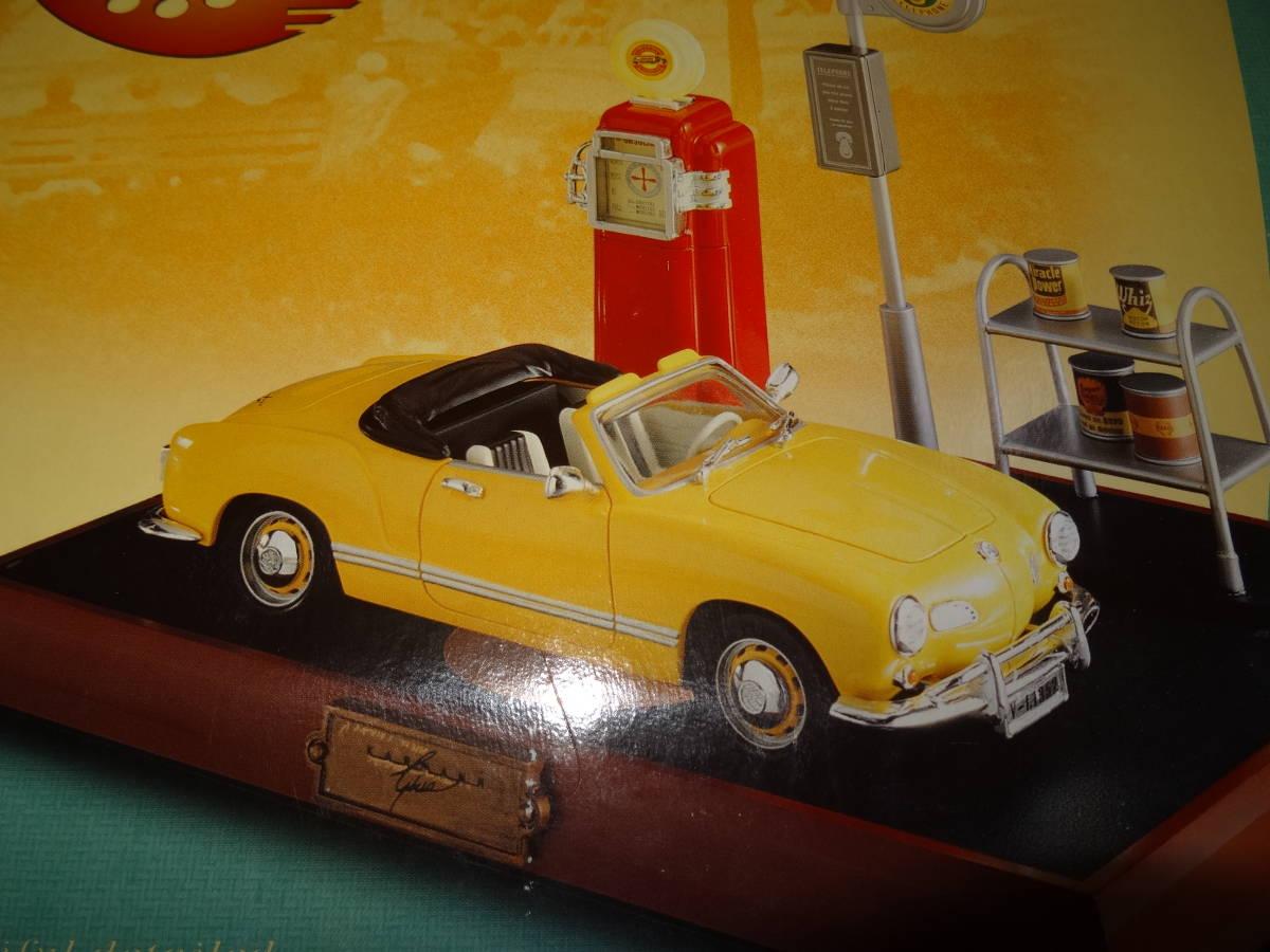 新品、ワーゲン カルマンギア 電話、VW Karmann Ghia Phone,PF PRODUCT, 1/24、 絶版。 超レア。_画像2