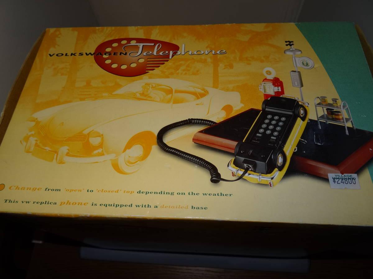 新品、ワーゲン カルマンギア 電話、VW Karmann Ghia Phone,PF PRODUCT, 1/24、 絶版。 超レア。_画像3