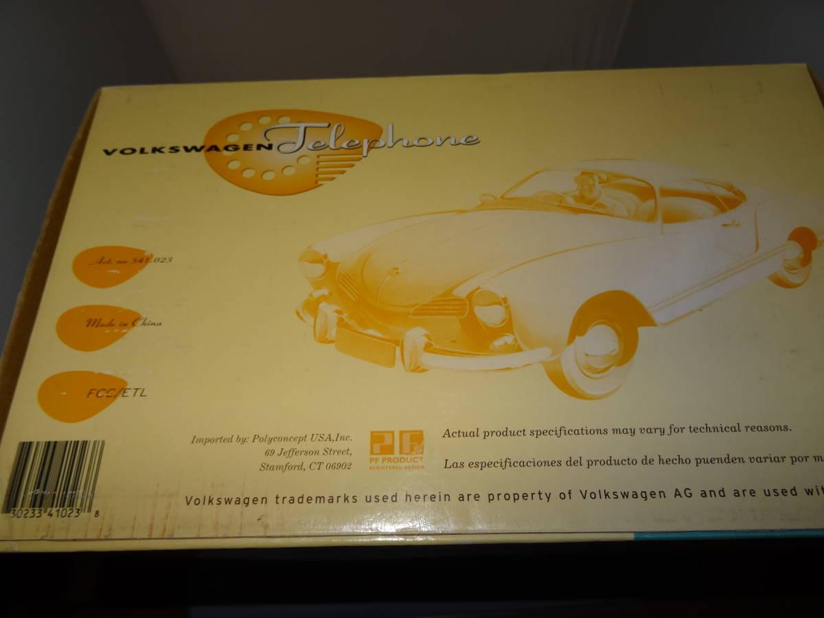 新品、ワーゲン カルマンギア 電話、VW Karmann Ghia Phone,PF PRODUCT, 1/24、 絶版。 超レア。_画像5