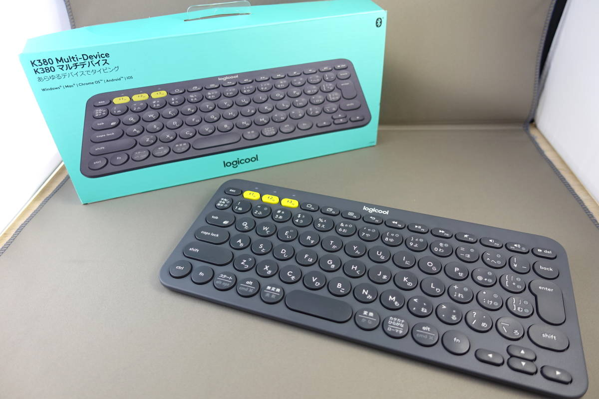 logicool ロジクール K380 Bluetooth ワイヤレス キーボード 送料全国一律510円 マルチOS:Windows Mac iOS Android Chrome OS 対応