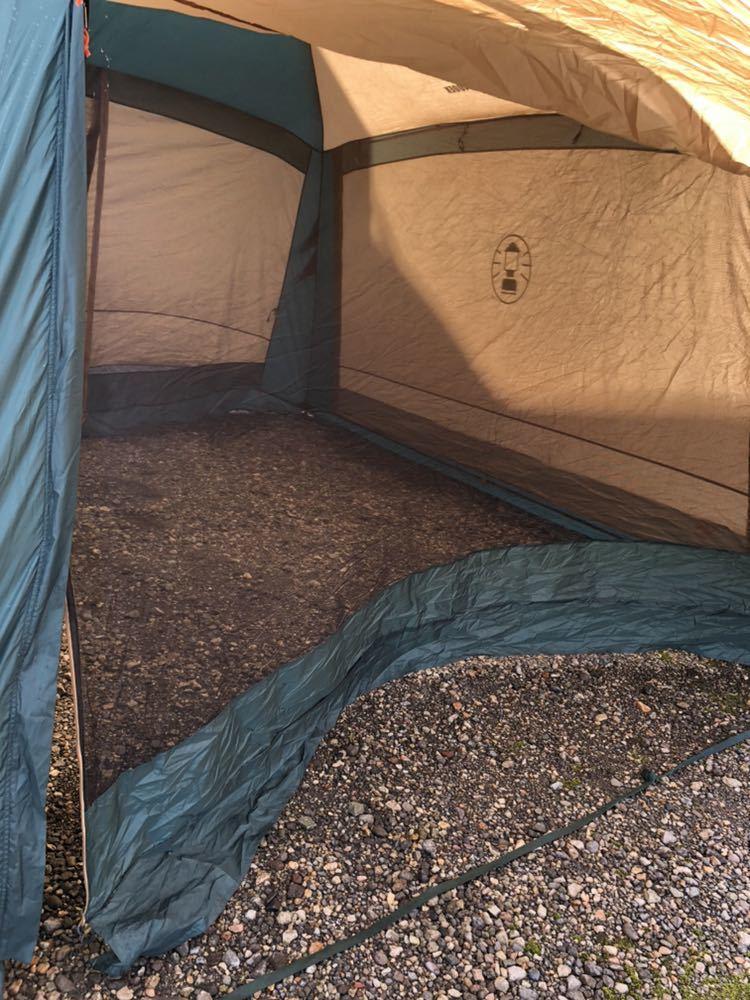 コールマン Coleman スクリーンタープ ラウンドスクリーン400EX UV PRO フルクローズ フルメッシュ キャノピー付 シェルター キャンプ _画像5