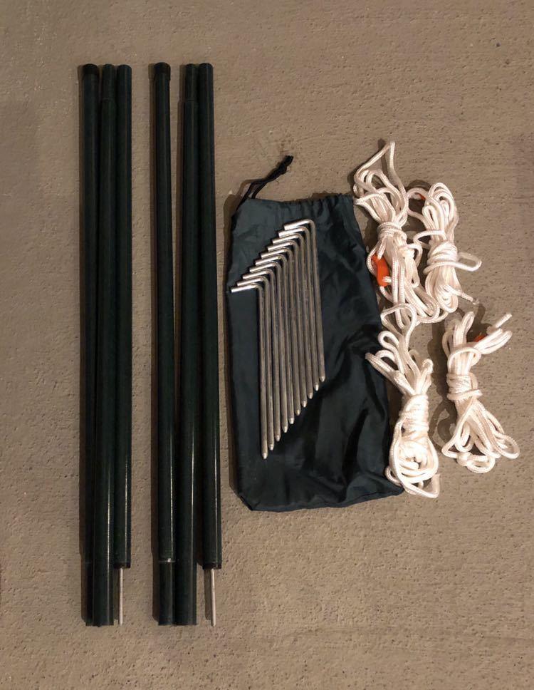 コールマン Coleman スクリーンタープ ラウンドスクリーン400EX UV PRO フルクローズ フルメッシュ キャノピー付 シェルター キャンプ _画像8