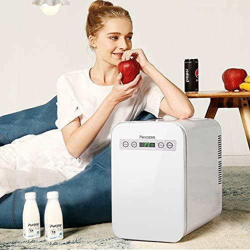 冷蔵庫 小型 ミニ冷蔵庫 10L冷温庫 LCD温度表示 家庭用 車載用小型冷温庫 AC110V/DC12V電源式_画像2
