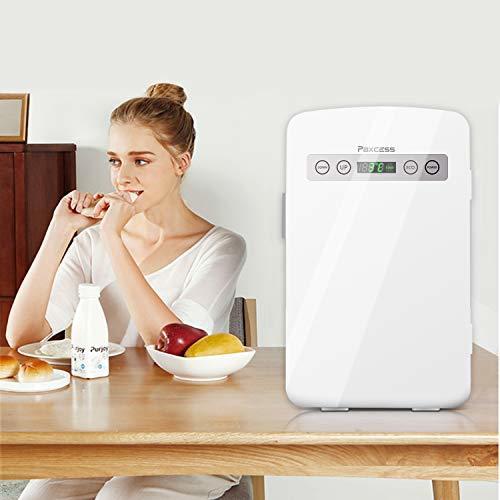 冷蔵庫 小型 ミニ冷蔵庫 10L冷温庫 LCD温度表示 家庭用 車載用小型冷温庫 AC110V/DC12V電源式_画像6