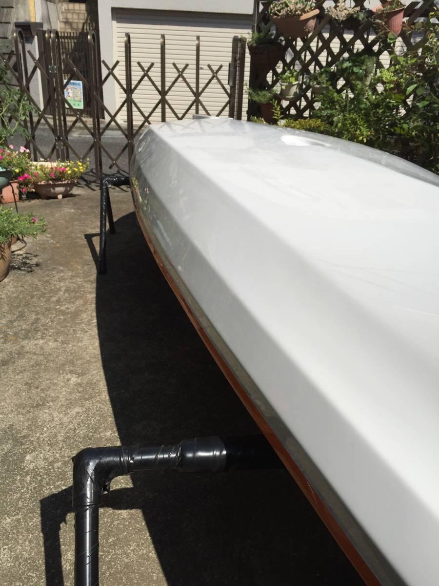 ◎最軽量! ABS製ハリケーンカヤックス スキマー116&4分割パドル&タモ網付き◎_画像10