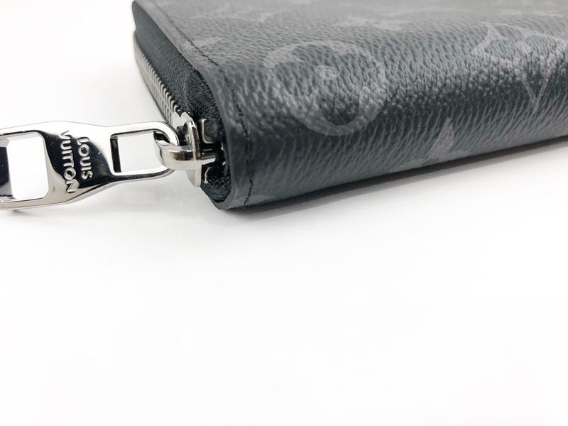 正規品 新品 未使用 2018年製 ルイヴィトン モノグラムエクリプス ジッピーウォレット ヴェルティカル M62295 ラウンドファスナー 長財布_画像6