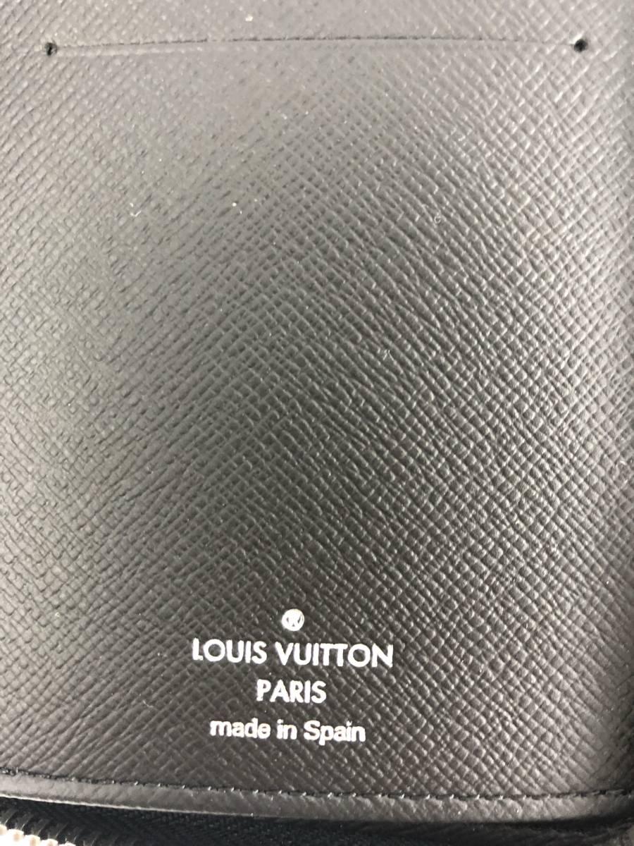 正規品 新品 未使用 2018年製 ルイヴィトン モノグラムエクリプス ジッピーウォレット ヴェルティカル M62295 ラウンドファスナー 長財布_画像4