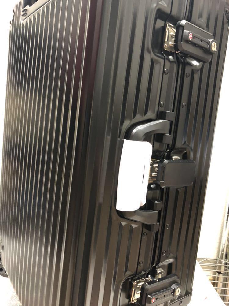 新品未使用♪超希少♪AMG メルセデス ベンツ オリジナル スーツケース♪ブラック_画像9