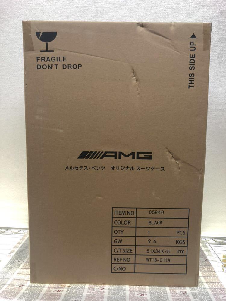 新品未使用♪超希少♪AMG メルセデス ベンツ オリジナル スーツケース♪ブラック_画像10