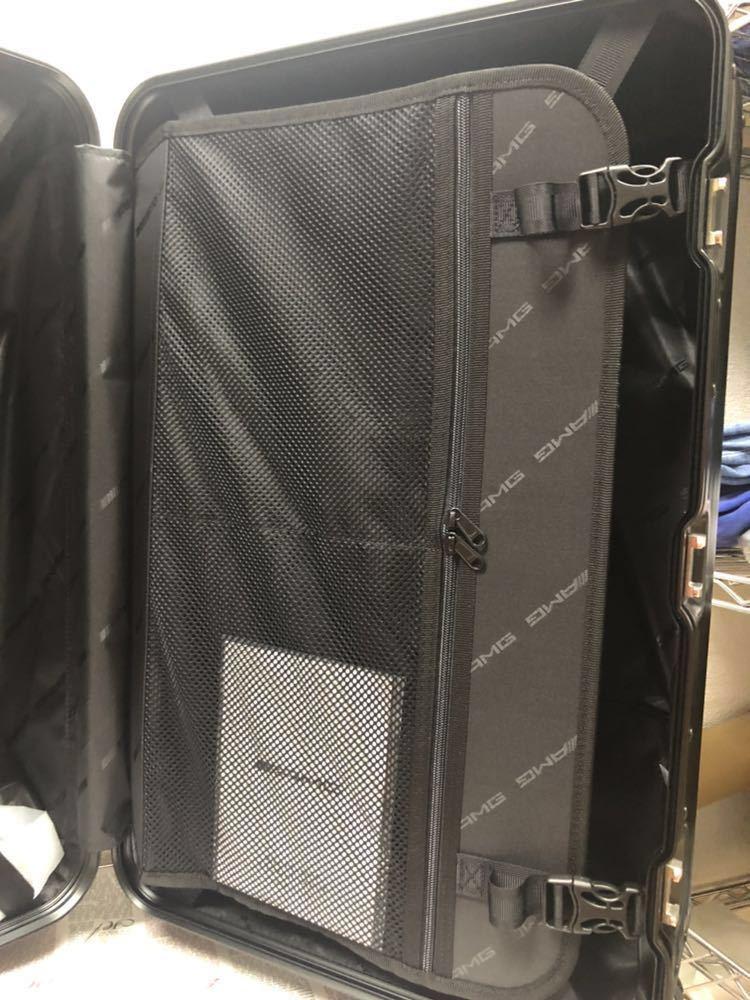 新品未使用♪超希少♪AMG メルセデス ベンツ オリジナル スーツケース♪ブラック_画像8