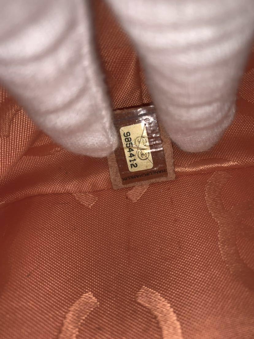 【超美品】★本物保証★CHANEL シャネル カンボンライン ラムスキン A25169 トートバッグ ハンドバッグ カーキ (M19)_画像9