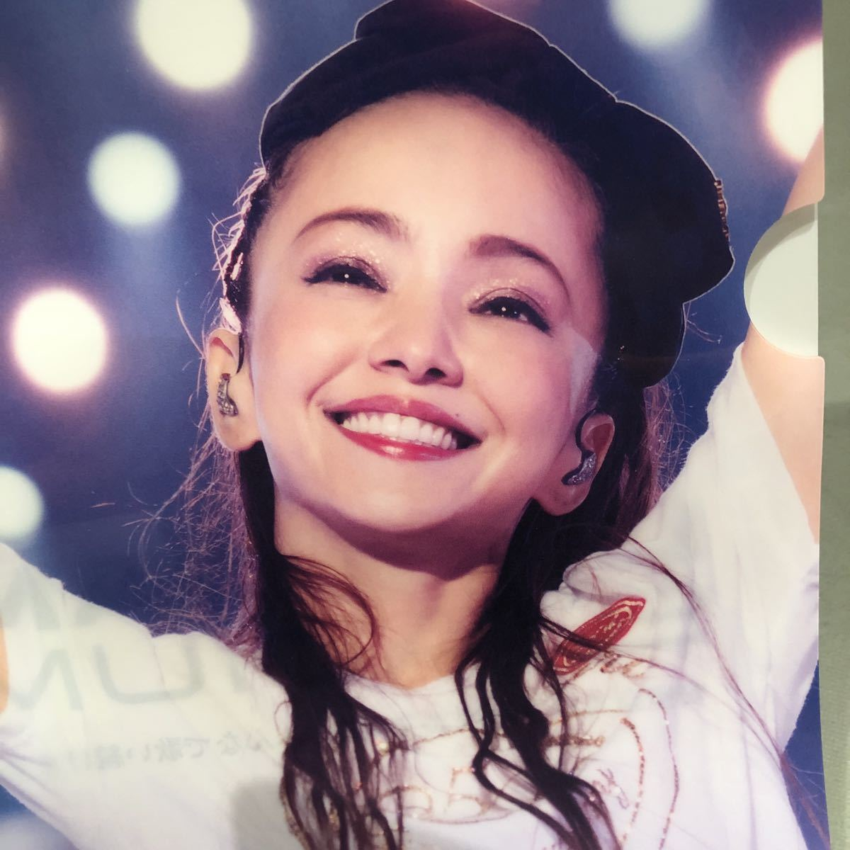 安室奈美恵さん クリアファイル_画像3
