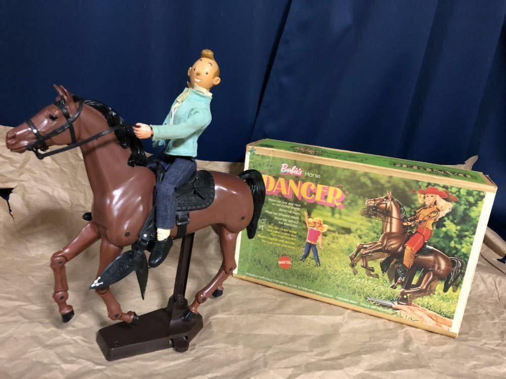 1970s vintage MATTEL Barbie HORSE DANCER 箱付 美品 70年代 ヴィンテージ マテル バービー ホース ダンサー フィギュア 人形 馬 1/6 稀少_人形はオークションに含まれません