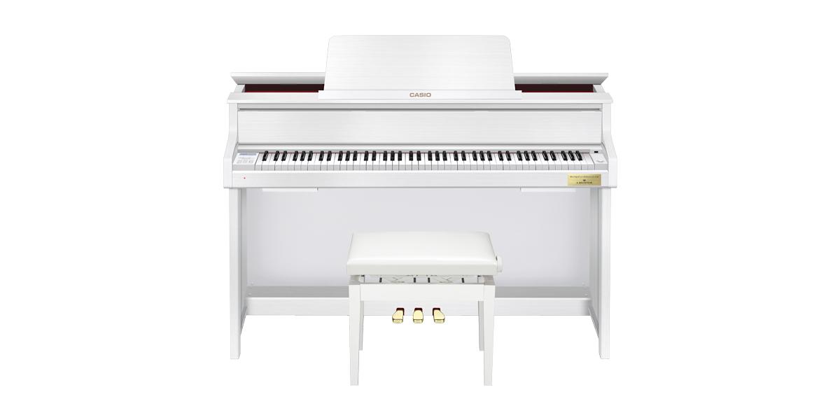 ★新製品 カシオ ピアノ GP-310BK / WE  全国設置無料!人気のハイブリッドピアノ★_画像2