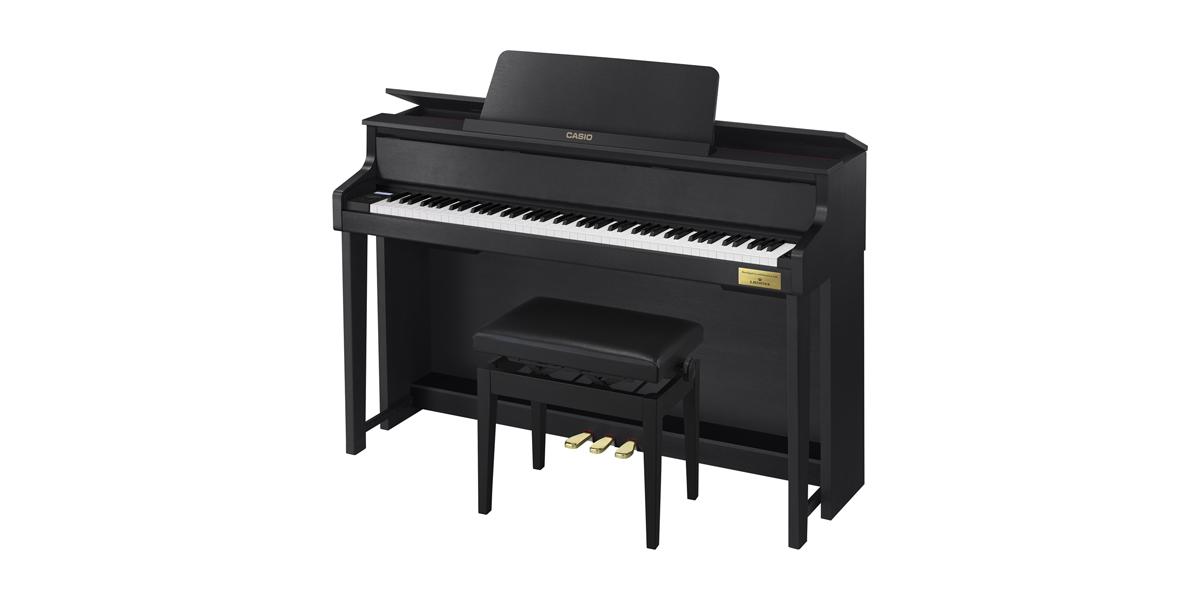 ★新製品 カシオ ピアノ GP-310BK / WE  全国設置無料!人気のハイブリッドピアノ★_画像3