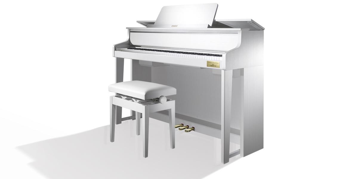 ★新製品 カシオ ピアノ GP-310BK / WE  全国設置無料!人気のハイブリッドピアノ★_画像4