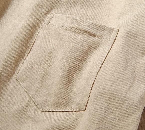 Fruit Of The Loom ヘビーウェイトビッグTシャツ ベージュM 厚手 ヘビー 半袖 カットソー ルーズシルエット フルーツオブザルーム ブランド_画像5