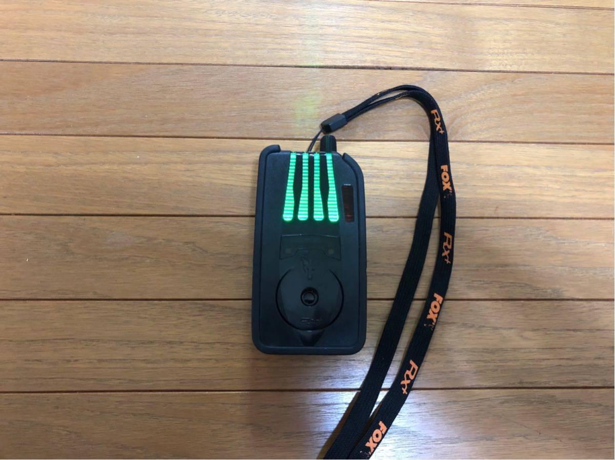 ★送料込 新品同様 鯉釣りセンサー FOX RX+ 4台セット 新品で約18万円_画像4