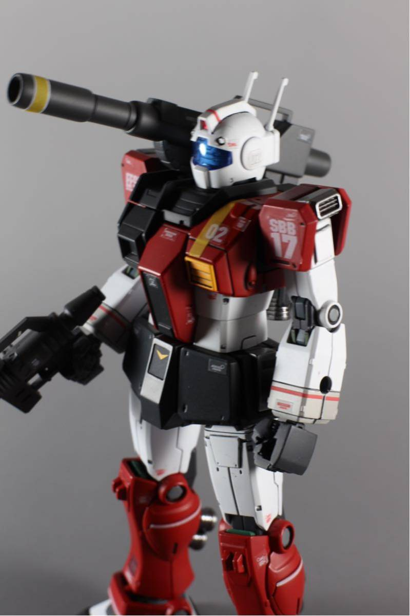 HG ジムキャノン(空間突撃仕様) 塗装済完成品