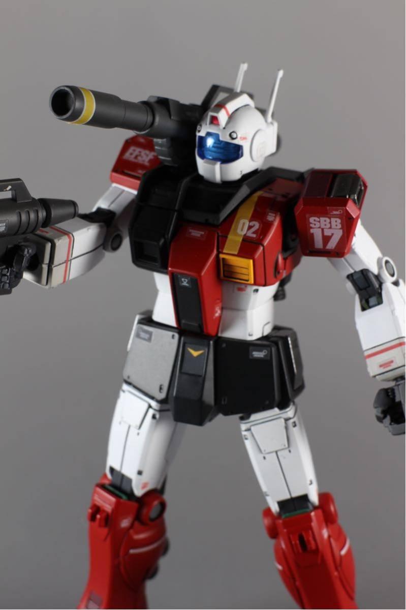 HG ジムキャノン(空間突撃仕様) 塗装済完成品_画像6